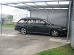 Our Subaru station wagon