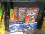 They sold boxes of American cereal for $15 and up