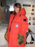 Geared up at the Antarctic Center